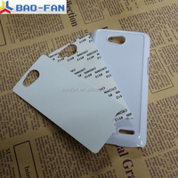 Sublimation case with aluminum metal sheet for LG L90