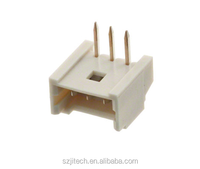 1.25mm pitch wire to board header molex 53048 series 3 pin connector 53048-0310 right angle application signal