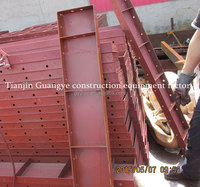 Flexible Steel Metal Round Curved Concrete Column Wall Form for Sale/ concrete forms sale wall panels concrete formwork
