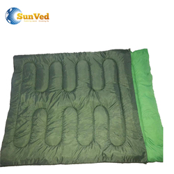 Cotton Filling and Terylene Fabric 2 People heated sleeping bag
