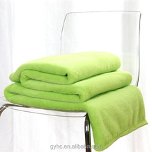 china factory solid color quality coral fleece blankets
