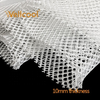 10mm soft polyester pillow and mattress used 3d spacer mesh