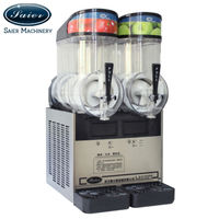 Double tank 12L Ice slush machine