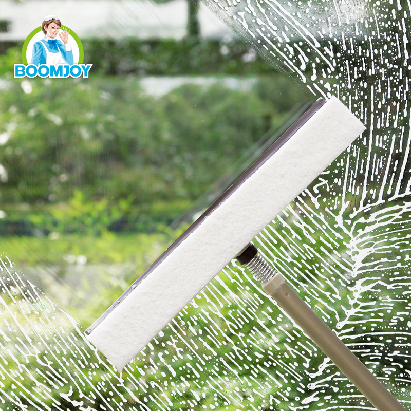 Stainless steel spring connector scrape window cleaner window cleaning pole