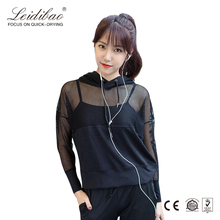 Women sports wear breathable running suit mesh design fitness yoga bodysuit