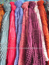 Trendy Indian shawls with cluster design