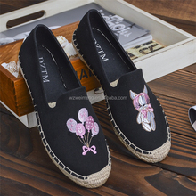 China manufacture wholesale jute espadrille casual Shoes