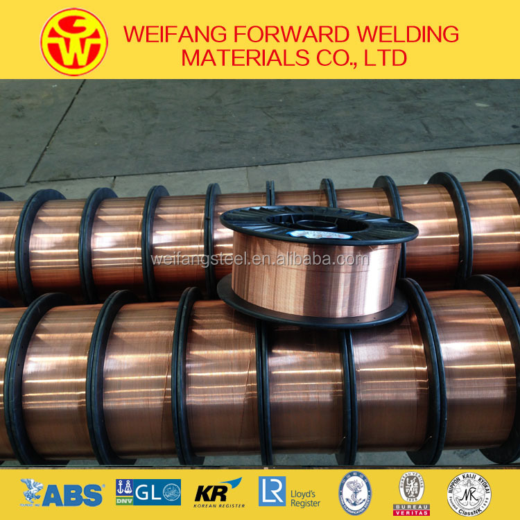 high quality factory direct supply mig mag CO2 steel low alloy steel welding wire