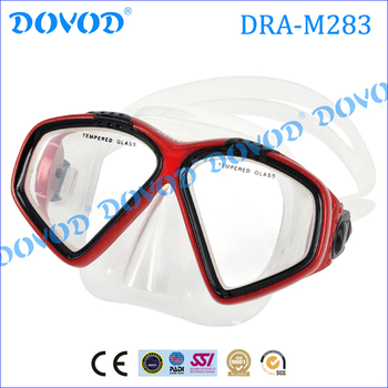 Full face scuba silicone diving mask