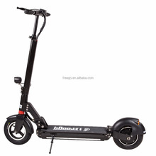 "10"" Wheel 500W rear Motor Electric Kick Scooter Bluetooth Speaker Electric Scooter LED light Decoration E-scooter"