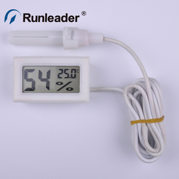 Runleader Mini Digital LCD Indoor Temperature Humidity Meter Thermometer Hygrometer