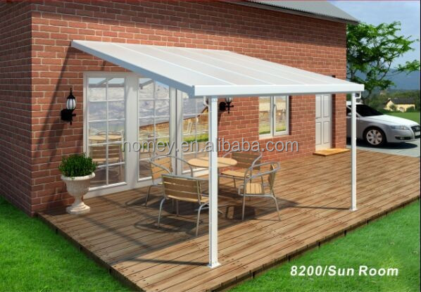 Exceptional Aluminum Attached Solid Patio Covers