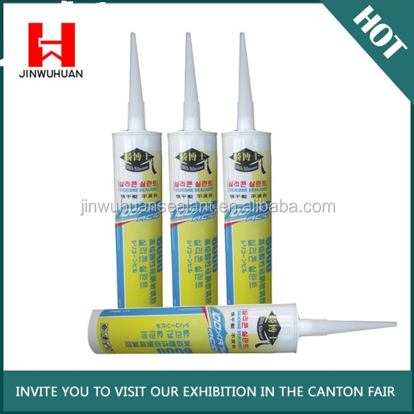 JBS-6000-1117 brand wide use acidic silicone sealant with factory price