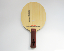 professional Hinoki pure wood professional table tennis blade pingpong paddle