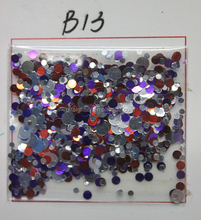 Wholesale Round Mixture B Glitter Sequins at cosmetic grade for Body Painting Nail Sticker