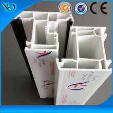 ISO certificated waterproof Co-extruded Color upvc pvc window Profiles