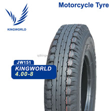 Brand DIY motorcycle tire 4.00-8, 4.00-8 popular pattern tire
