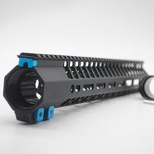 15 Inch Black M-lok Free Float Handguard for .308 High Profile DPMS Style