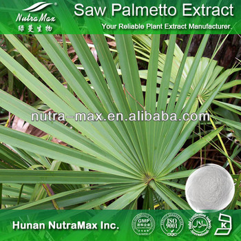 China Manufacturer - Top Quality Saw Palmetto Extract Fatty Acid 45%