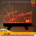 CE & ROHS & FCC approved desktop led writing board shops advertising super brightness
