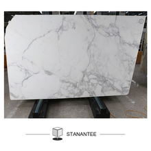 cheap price sale polished calacatta white marble slab with vein for wall tiles