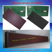 Hot sale p10 led display blue picture video module red, blue, green, yellow, white, RGB led panel