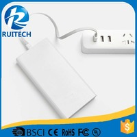 original full capacity 20000mAh power bank for xiaomi power bank charging for two device