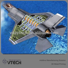 Cheap Price Alibaba express 3d printing service of Aerospace Parts Made by DMLS Titanium / Metal 3D Printing