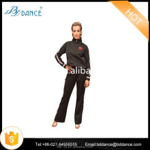 soft dancewear suit with best quality Black/white/Red