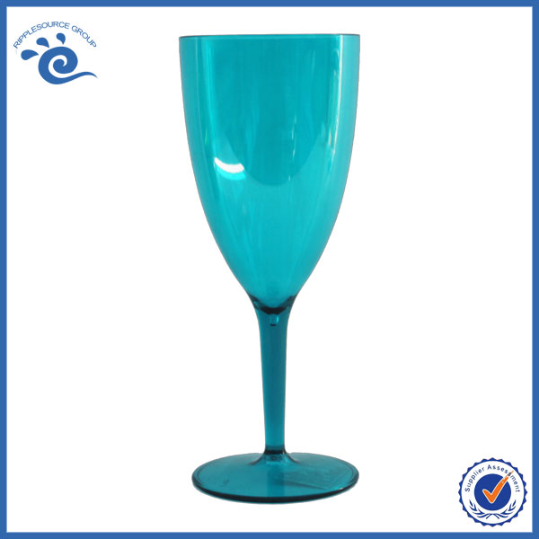 Water Cheap Acrylic Plastic Wine Goblets
