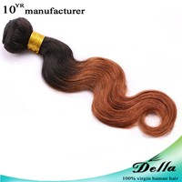 Promotion fashion real human hair weft for african americans hair station