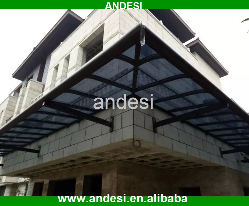 polycarbonate metal building window awning door canopy