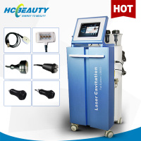 new lipo-laser fat removal +cavitation vacuum cellulite reduce machine for salon use
