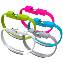 Fashion Bracelet Charging Mobile Phone Cable USB Data Cable For Apple iPhone 5 6 7 Plus for iPad 4 5 6 IOS 8Pin Charger