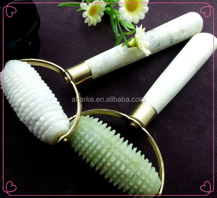 health products green jade needle roller cellulite roller massage