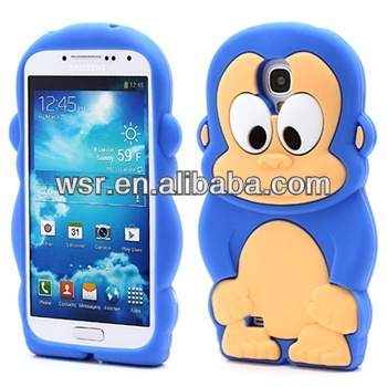 animal Silicone Case for Samsung Galaxy S4