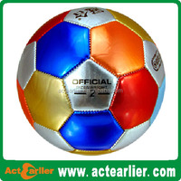 Cheap Custom Promotional PVC PU Rubber Mini Football Soccer ball for training