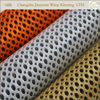 100 polyester knit fabric/Sandwich air mesh fabric