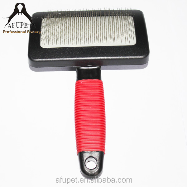 Hot Sale Rubber handle supply Dog Deshedding Comb Grooming Tools Pet Brush