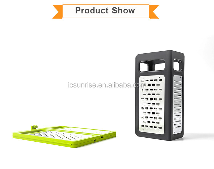 Four Sides Foldable Stainless Steel Vegetable Grater Peeler