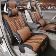 car accessories 2016 new ice silk+leather car seat cushion