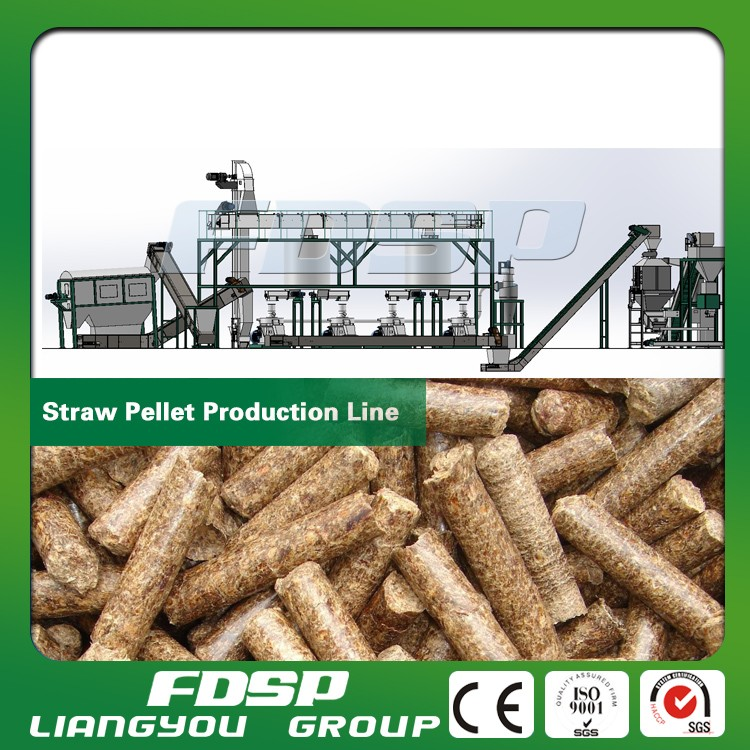 Factory offer sawdust pelleting line-biomass engineering machinery wood pellet mill hammer mill