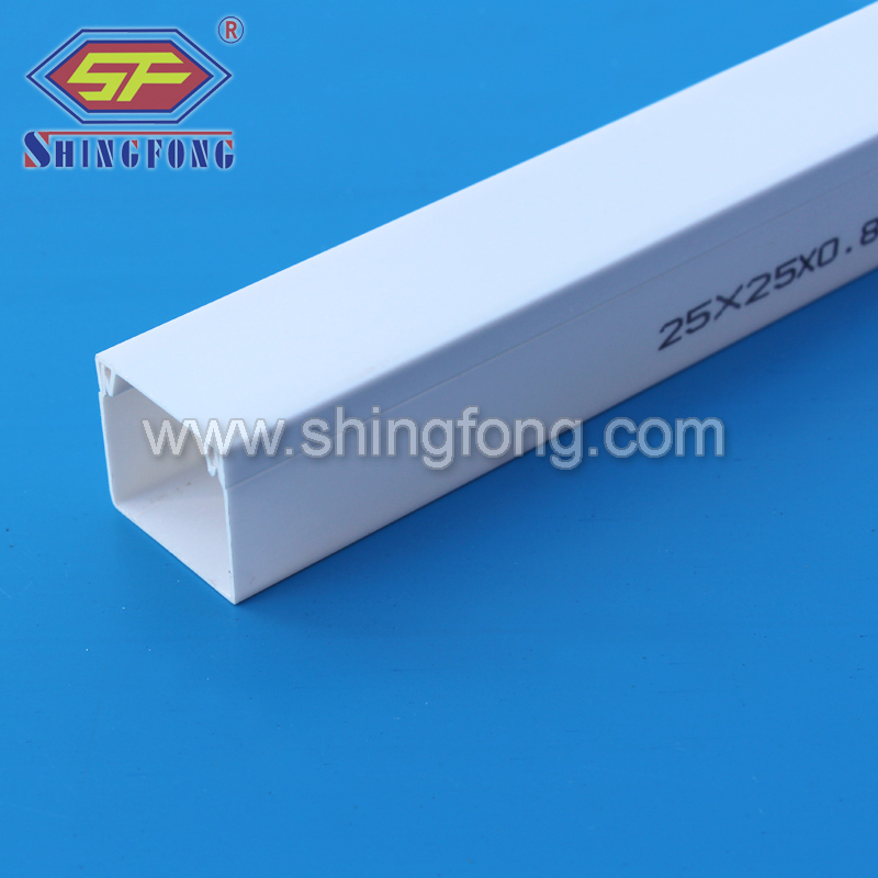 PVC square plastic conduit for electrical