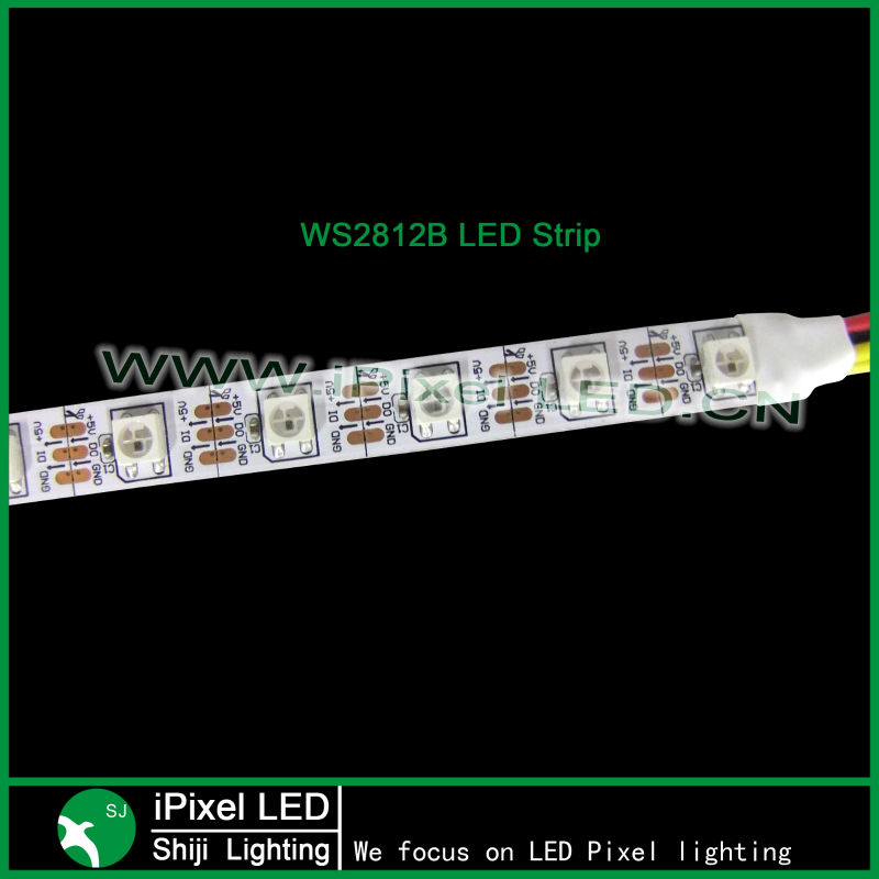 madrix addressable individually control pixel rgb led strip ws2812b DMX control