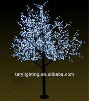 hotsale led cherry tree lamp.3.0m high,2880leds led cherry blossom tree light