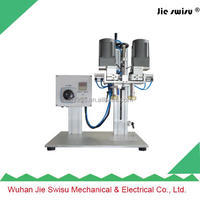Electric manual perfume bottle screw capping machine