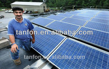 semi flexible solar panel 2kw solar system 1500w solar system convenient for home with tuv ce