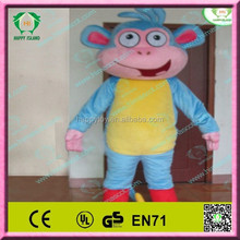 HI EN71 animal mascot cartoon adult boots monkey costume for kids