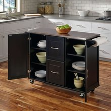 Wholesale new design wooden kitchen trolley for kitchen Furniture Customized