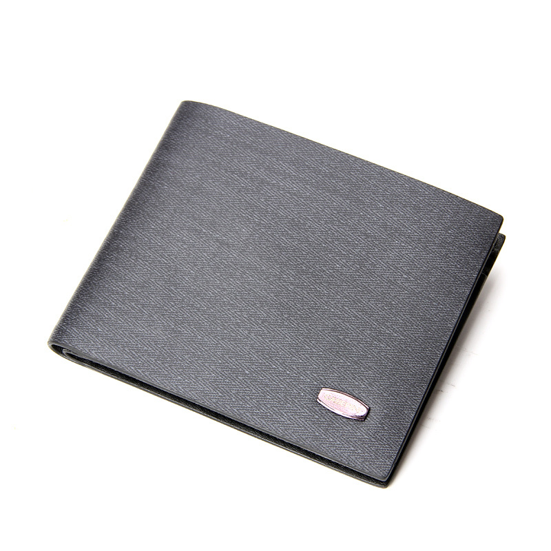 Upscale Fashion 2015 Silicone Leather Mens Wallet Genuine Leather Wallet